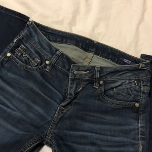 Medium Wash Vigoss Skinny Jeans